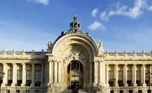 Façade du petit Palais, à Paris.