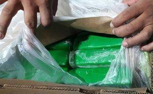 La drogue a été découverte en Colombie dans un conteneur, dont les scellés étaient intacts.