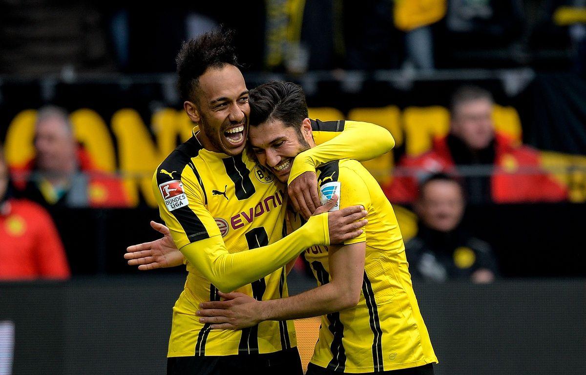Dortmund s'est baladé samedi après-midi – SASCHA SCHUERMANN / AFP
