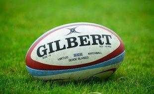 Illustration d'un ballon de rugby.