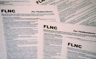 Un « nouveau FLNC » se manifeste en Corse, notamment par des tracts, depuis le début du mois d'octobre.
