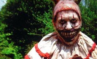 Un clown psychopathe de la saison 4 de la série American Horror Story