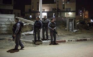 Les lieux de l'attaque, à Kiryat Gat, en Israël, le 21 novembre 2015.
