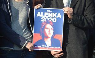 Une affiche de campagne du mouvement Nous sommes, à Montpellier