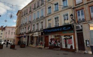 Le 12 février 2019. La ville de Tarare, située à 45 kilomètres de Lyon, tente de dynamiser la vie de ses commerces de proximité.