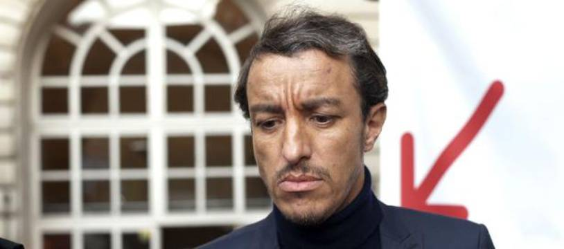 Karim Achoui à Paris le 17 septembre 2013.