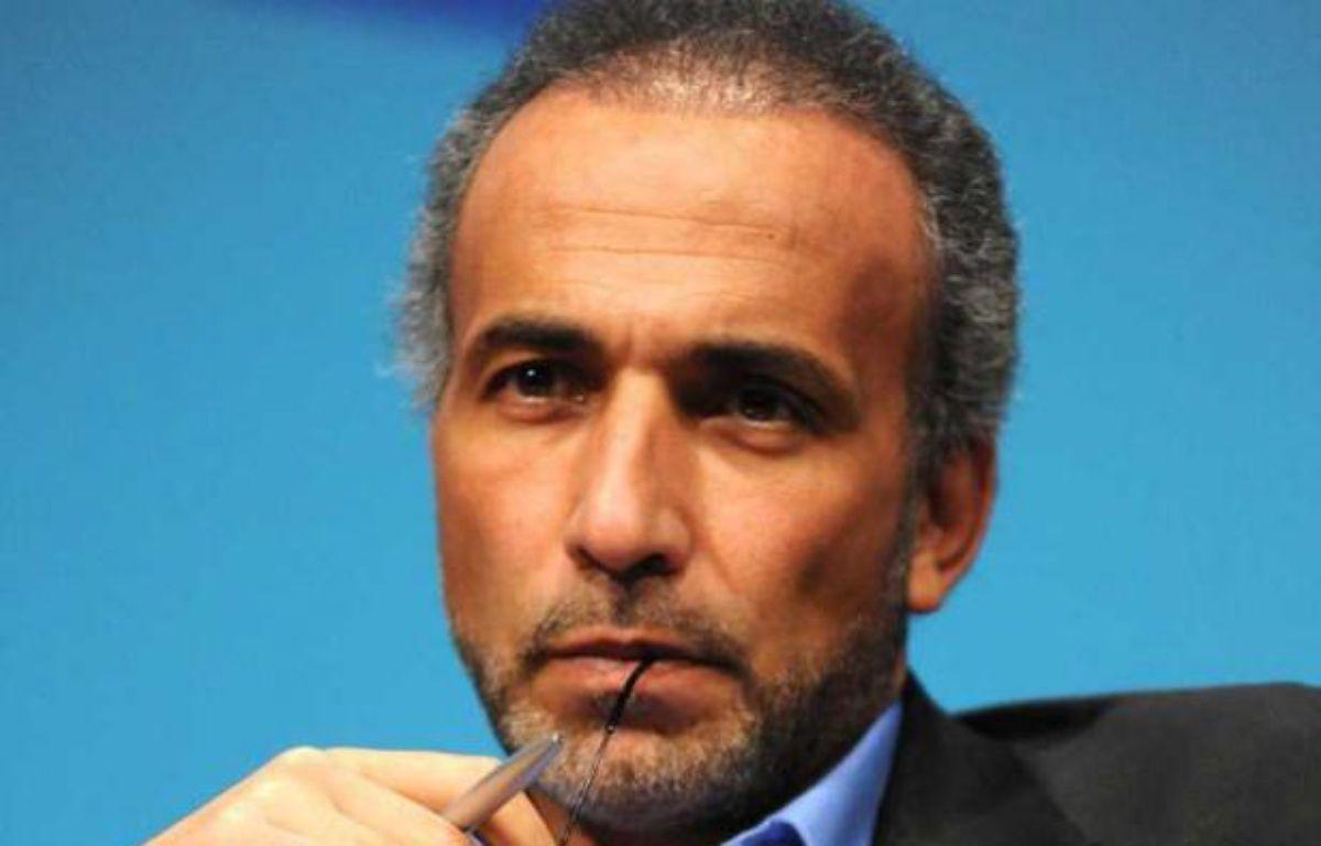 L'islamologue Tariq Ramadan, en janvier 2012 à Nantes. – S. SALOM-GOMIS/SIPA