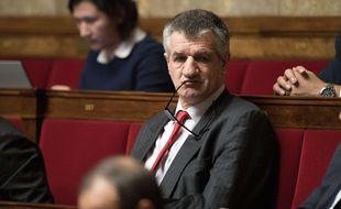 Jean Lassalle à l'Assemblée nationale, le 19 décembre 2017.