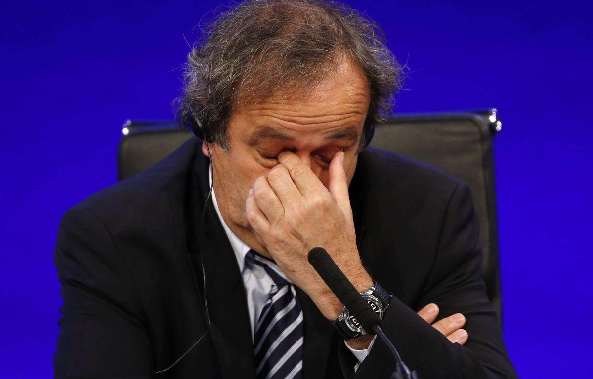 Michel Platini risque une radiation à vie du football pour un paiement de la Fifa en 2011.  – Sang Tan/AP/SIPA