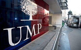 Le siège de l'UMP à Paris.