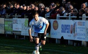 Jordan Galtier, joueur de l'US Lège-Cap-Ferret en CFA 2.