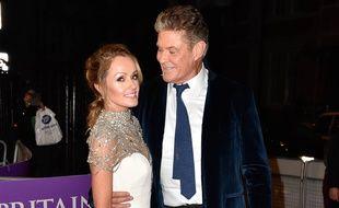 Les futurs mariés, Hayley Roberts et David Hasselhoff