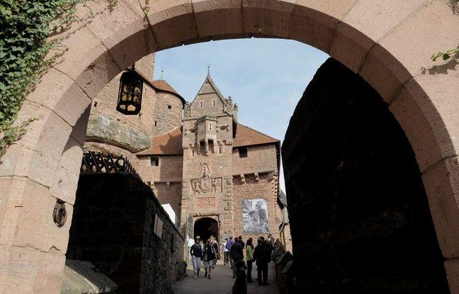 Le château du Haut-Koenigsbourg (Bas-Rhin) accueille 550.000 visiteurs par an. Sa nouvelle direction compte développer le tourisme d'affaires, la billetterie en ligne et un espace de restauration au Bastion. (Archives)