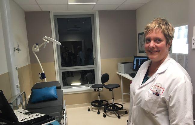 La professeur Sybille Facca, chirurgien à SOS Mains à l'hôpital Hautepierre de Strasbourg.