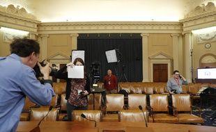 C'est dans cette salle du Congrès que vont se tenir les auditions publiques de l'enquête d'« impeachment » qui vise Donald Trump à partir du 13 novembre 2019.