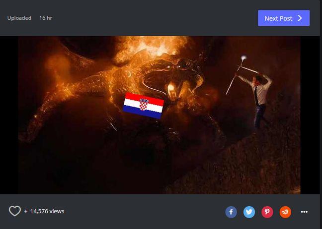 Capture d'écran d'un montage publié sur Reddit.