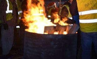 «Gilets jaunes» dans le Bas-Rhin: Une cabane incendiée dans la nuit (Illustration)
