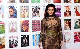 Kim Kardashian à Londres le 23 mai 2016