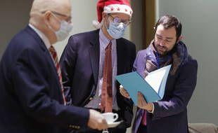 Les négociateurs de l'accord post-Brexit ont travaillé le 25 décembre à la Commission européenne, à Bruxelles