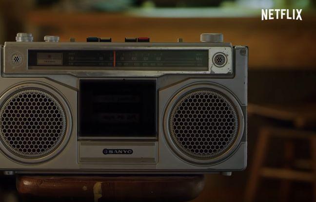 Le lecteur de cassettes Sanyo qui apparait dans la bande annonce de la saison 3 de la série Netflix Stranger Things.