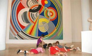 Le musée d'Art moderne organise de nombreux ateliers créatifs.