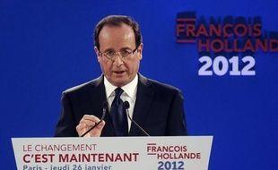 Après son meeting du Bourget et la présentation de son projet, le candidat PS à l'Elysée François Hollande sort renforcé d'une semaine qui était décisive pour la dynamique de sa campagne, parvenant à installer sa stature présidentielle et marquant des points sur sa crédibilité.