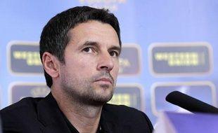 Remi Garde, l'entraîneur de l'Olympique Lyonnais, le 20 septembre 2012 à Lyon.
