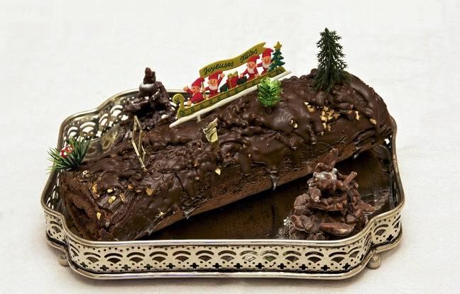 Les bûches de Noël demandent aussi beaucoup de beurre dans leurs recettes.