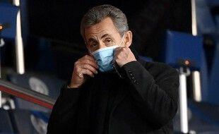 Nicolas Sarkozy, le 22 janvier 2021 à Paris.
