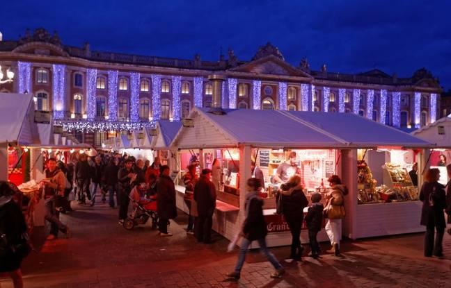 Le marché de Noël du Capitole.