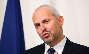 Le directeur général de la santé Jérôme Salomon, à Paris en décembre 2020.