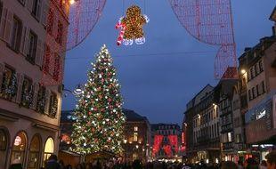 Le marché de Noël de Strasbourg restera fermé cette année. Illustration