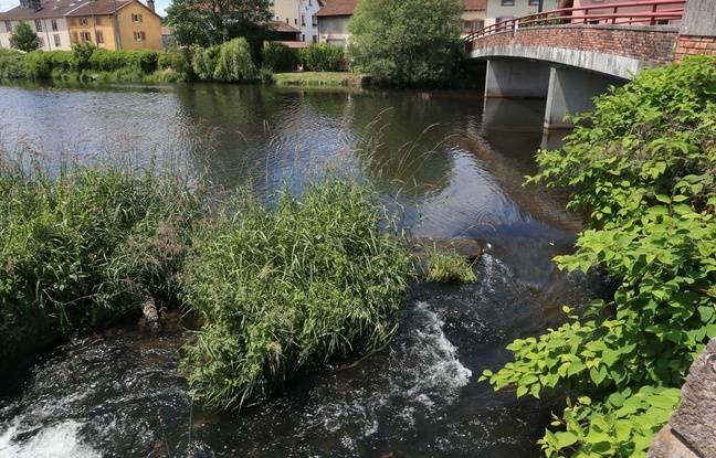 A Docelles, La Vologne. Vosges le 15 06 2017. L'endroit où a été retrouvé le corps du petit Grégory en 1984..