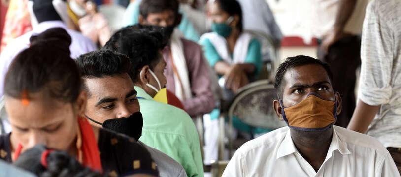 L'Inde est le pays qui a enregistré le plus de nouveaux de Covid avec 650.231 contaminations en une semaine du 7 au 13 septembre 2020.
