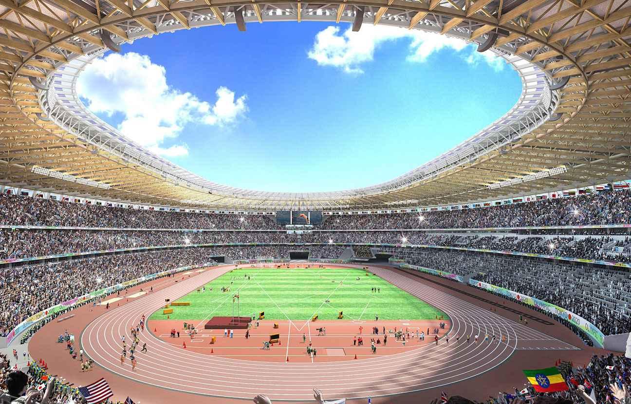 jo 2020 tokyo tient enfin son stade olympique apr s l 39 abandon d 39 un projet trop cher. Black Bedroom Furniture Sets. Home Design Ideas