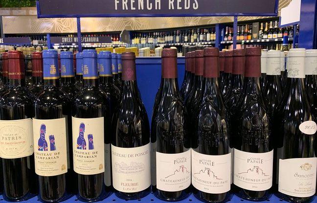 Commerce: Trump évoque une taxe sur les vins français avant le G7