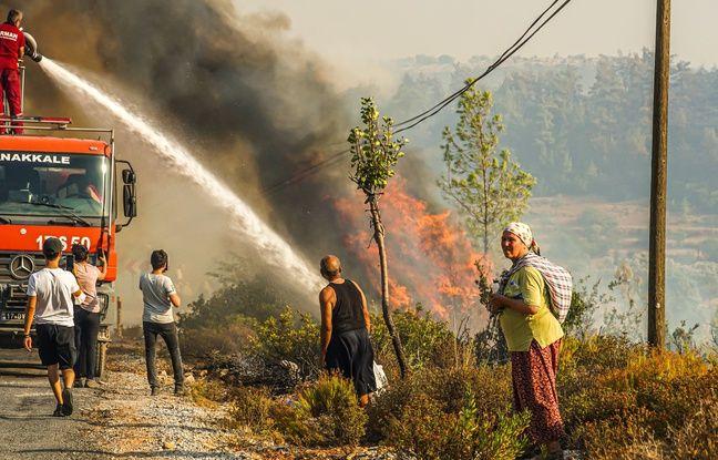 648x415 les incendies continuent de ravager les environs de bodrum destination prisee des touristes
