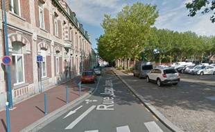 La rue Jean-Jaurès où a eu lieu l'interpellation.