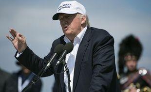 Donald Trump était en déplacement en Ecosse