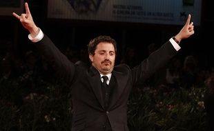Le réalisateur Pablo Larrain sur le tapis rouge de la 67e Mostra de Venise, le 5 septembre 2010.