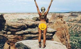 Le compte Instagram Cheekyexploits recense les photos d'internautes nus devant de beaux paysages
