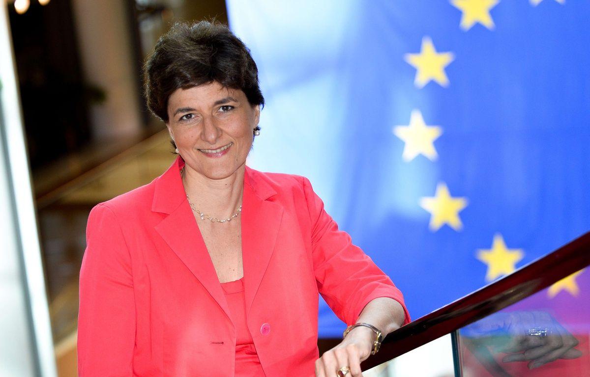 Sylvie Goulard, la caution européenne d'Emmanuel Macron.  –  Michel CHRISTEN/ISOPIX/SIPA