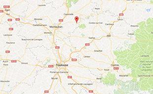La commune de Bruniquel dans le Tarn-et-Garonne.