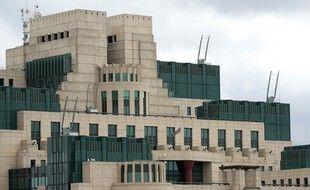 Les locaux du MI6 à Londres.