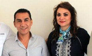 José Luis Abarca, et son épouse