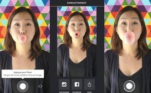 Boomerang, la nouvelle appli d'Instagram
