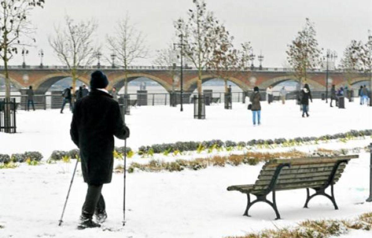Le froid qui touche la France (ici à Bordeaux) devrait persister cette semaine. –  J.-P. VINCENT / 20 MINUTES