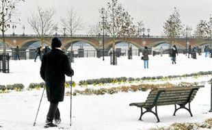Le froid qui touche la France (ici à Bordeaux) devrait persister cette semaine.