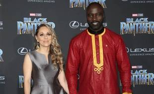 Iva et Mike Colter, l'acteur de Luke Cage