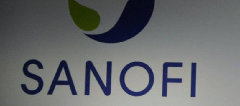 Le logo de Sanofi, le 4 mai 2015